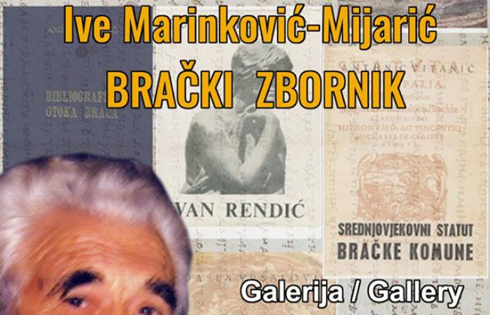 Retrospective exhibition Ive Marinkovic-Mijaric