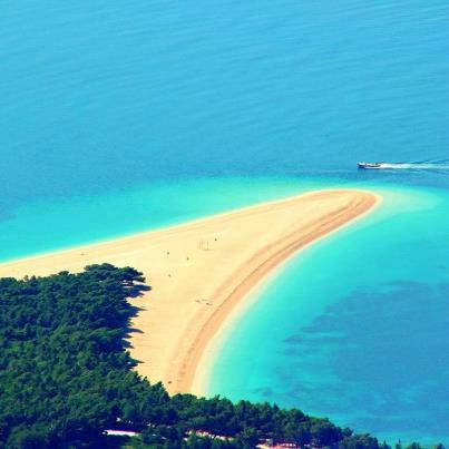 Zlatni rat among 10 unique beaches