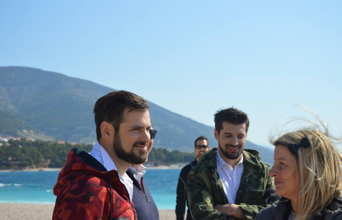 2Cellos videospot on Zlatni rat