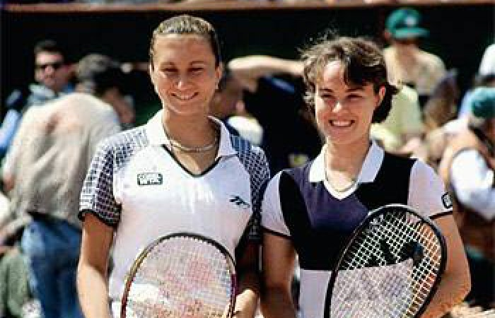 Exhibition match Hingis - Majoli