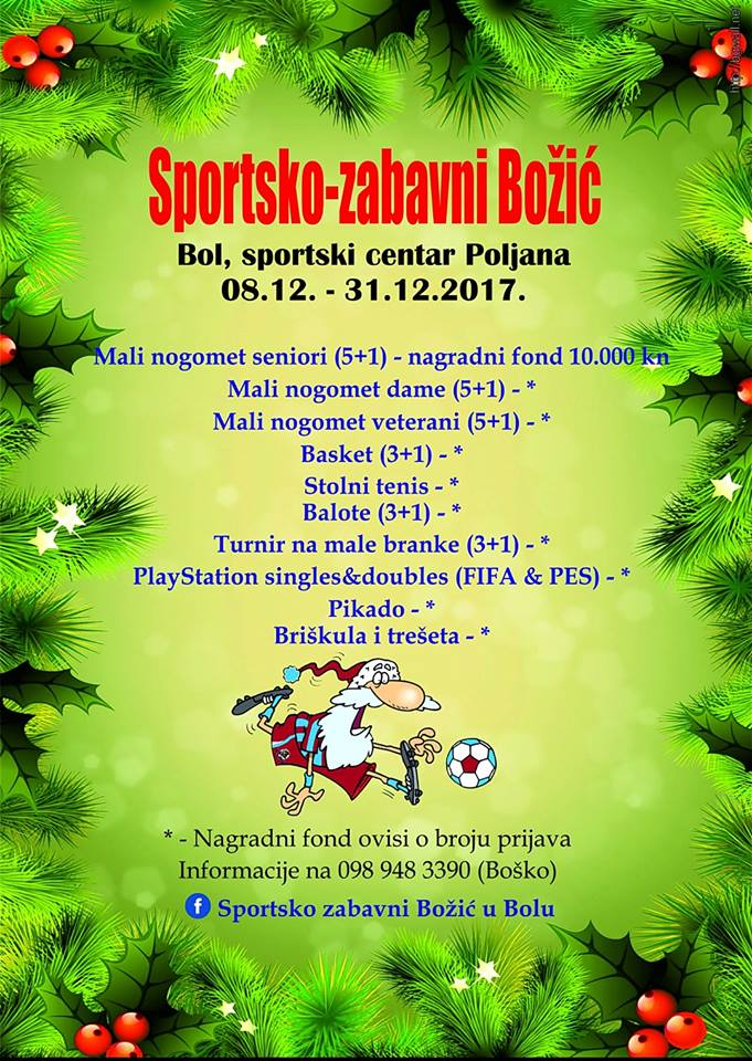 Christmas Sports & Fun in Bol