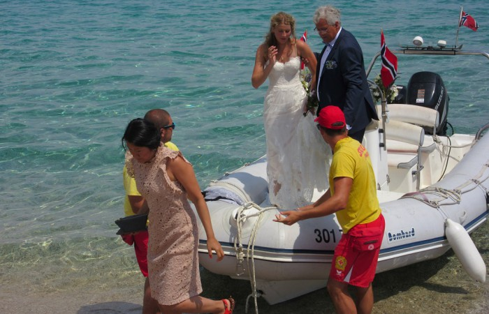 Wedding at Zlatni rat