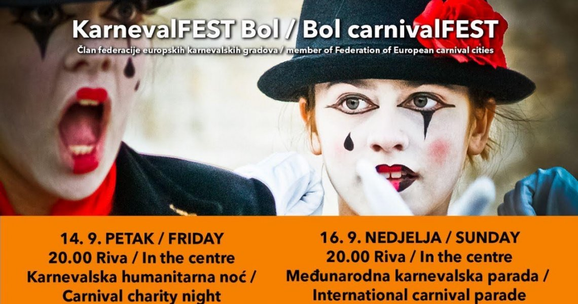 11th International Brač summer carnival