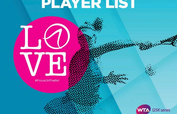 List of tennis players for WTA Croatia Bol Open