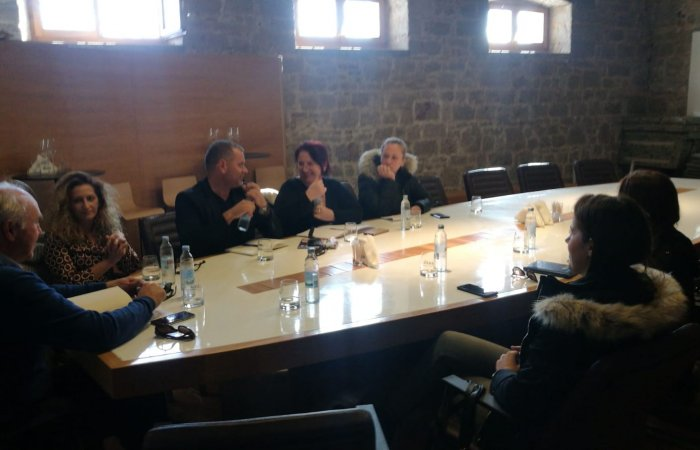 Meeting of the heads of Tourist Office on Brač