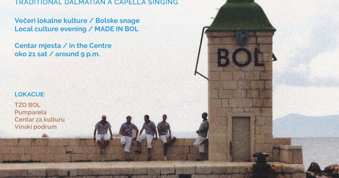 Traditional dalmatian a capella singing - 21.07.