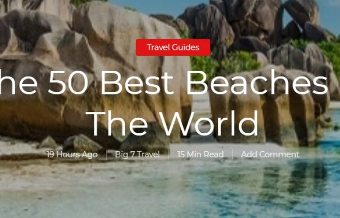 The 50 best beaches in the world by Big 7 Travel