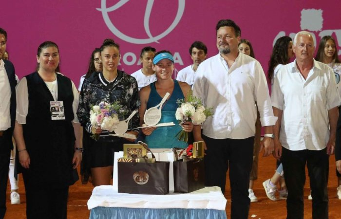 Tamara Zidanšek defended last year's title and conquered WTA Croatia Bol Open 2019!