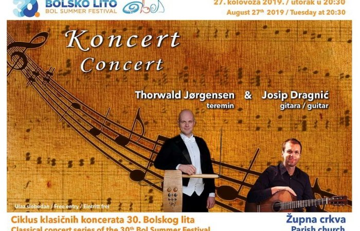 Classical concert series - Jorgensen and Dragnić