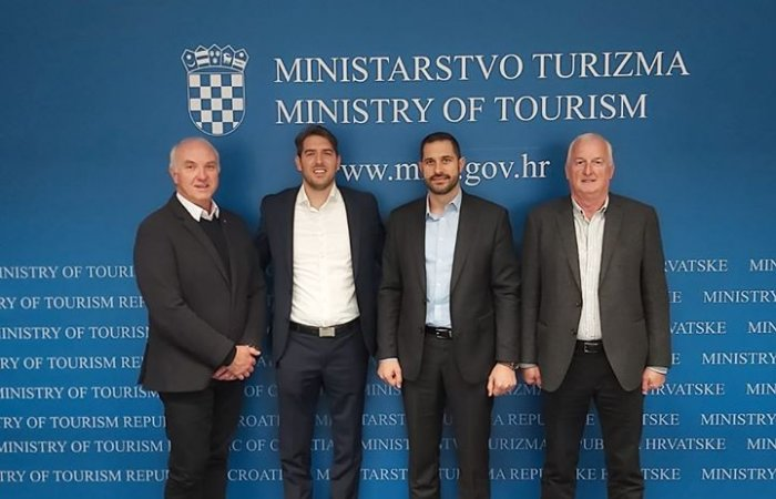 Meeting at the Ministry of tourism