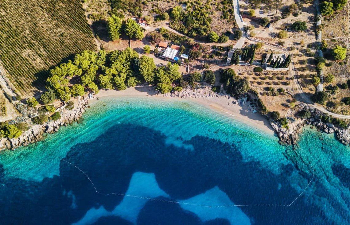 Yachts guide to Brač: Island of the cultural adventure