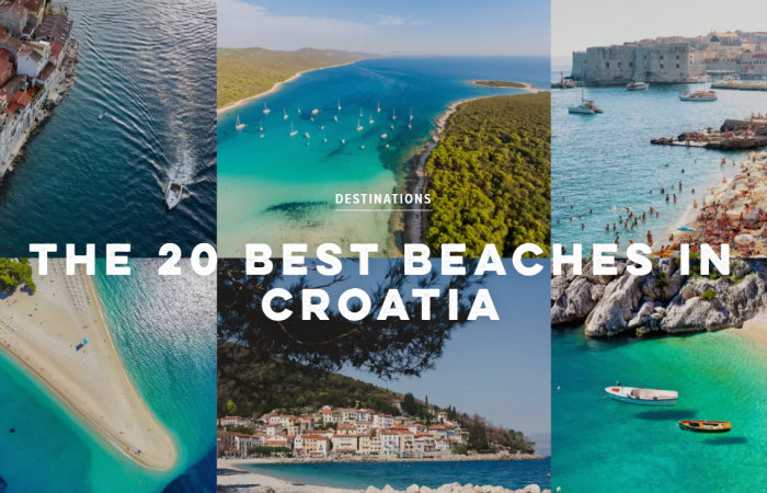 20 best beaches in Croatia by Conde Nast Traveller