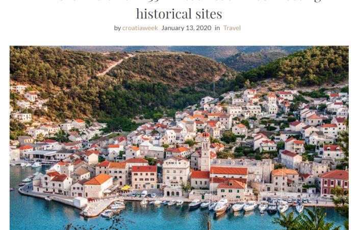 Via Brattia featured in CroatiaWeek magazine